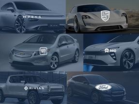 Infrastructure Spending: EV car brands