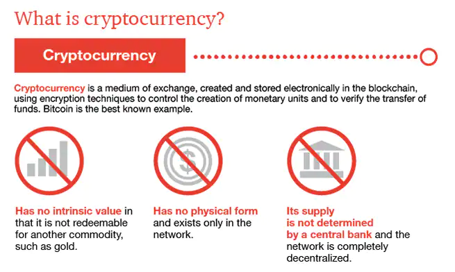 DeFi: What is Cryptocurrency Infographic