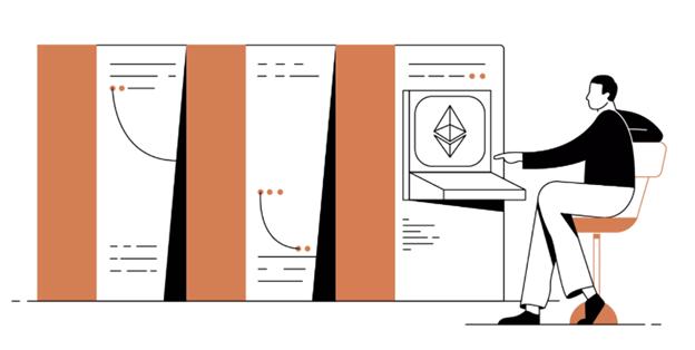 DeFi: Ethereum Cartoon