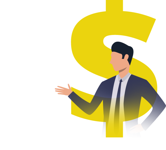 Independent Financial Advisor Money Symbol
