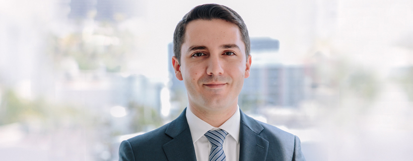 Crystal Capital Partners Profile Photo of Omri Saadi - Research Associate